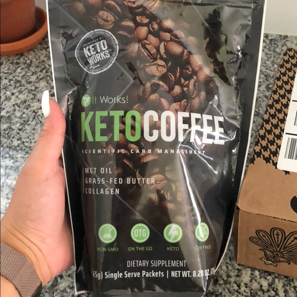 ItWorks Keto Coffee Supplement